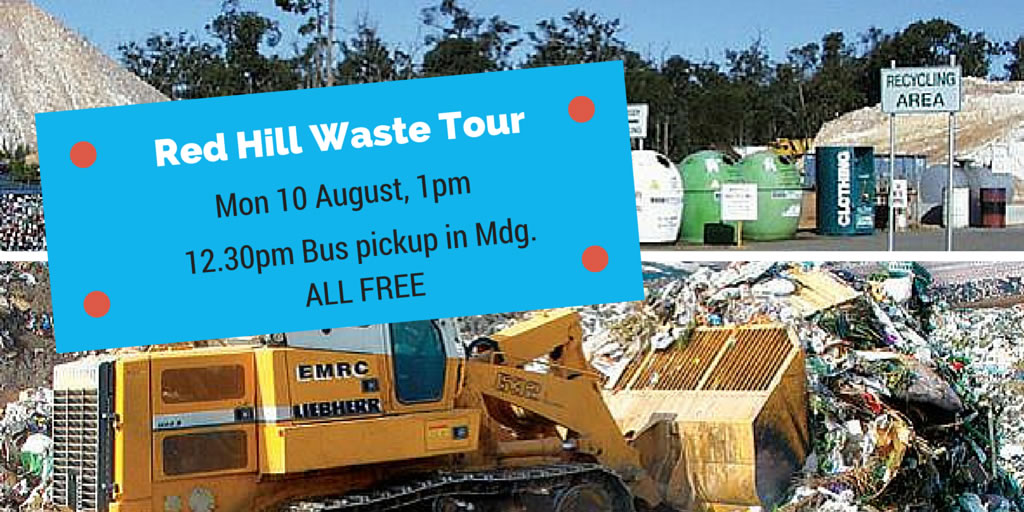 Red Hill Waste Tour
