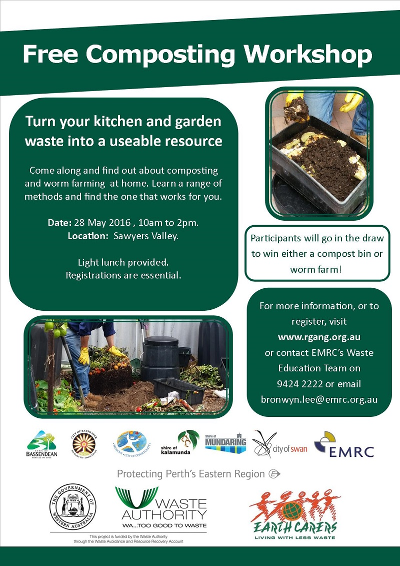 Compost in May - Flyer 2016